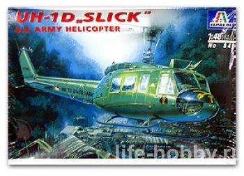 "0849 UH-1D ""SLICK"" U.S. Army helicopter"