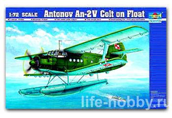 01606 Antonov An-2V Colt on Float (Биплан Ан-2В на поплавках)
