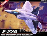 12423 Самолет Air Dominance Fighter F-22 Raptor (Истребитель превосходства в воздухе F-22 `Раптор`)