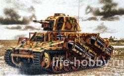 00352 Танк франции H39 / Hotchkiss H39 French tank