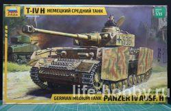 3620 Немецкий средний танк  T-VI H / German medium tank PANZER IV Ausf. H