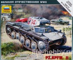 6102 Немецкий лёгкий танк Pz.Kpfw. II / Pz.Kpfw. II German Light Tank