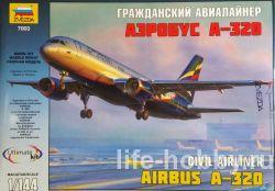 7003 Гражданский авиалайнер АЭРОБУС А-320 / AIRBUS A-320 Civil airliner