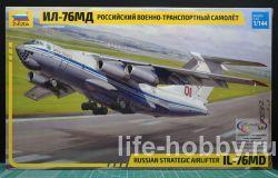 7011 Российский военно-транспортный самолёт ИЛ-76 МД / Russian strategic airlifter IL-76 MD