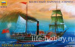 "9013 Колесный пароход «Сириус» / Steam Ship ""Sirius"""