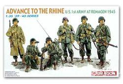 "6271 US 1st Army at Remagen 1945 ""Advance to the Rhine"""