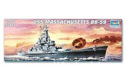 05761 USS Massachusetts BB-59 (Линкор BB-59 `Массачусеттс`)